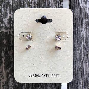 Petite Stud Earring Duo